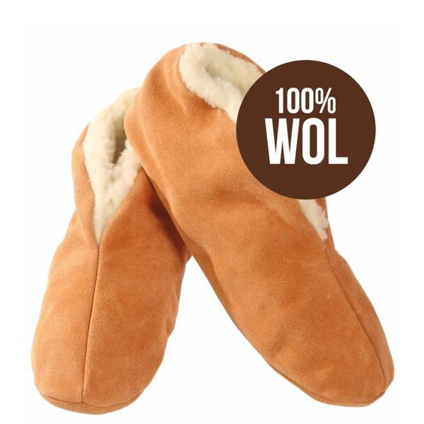 Bernardino Spaanse slof – Beige 100% wol