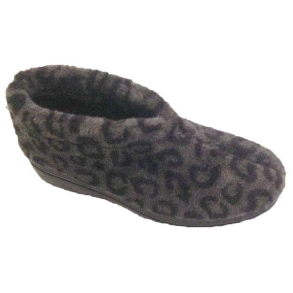 Blenzo 9415 Pantoffel Lichte Luipaardprint- Grijs