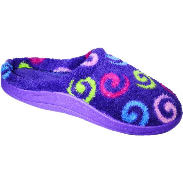 Import Geparfumeerde Pantoffel D101- Paars Design