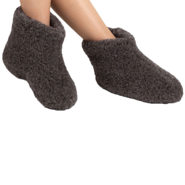 Woolwarmers Wollen Slof Dolly 917- Zwart